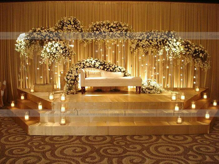 Wedding Planning Gorgeous Reception Stage