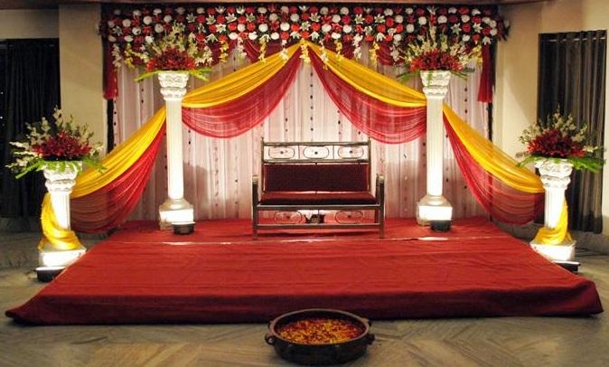 Wedding Planning Simple Reception Stage