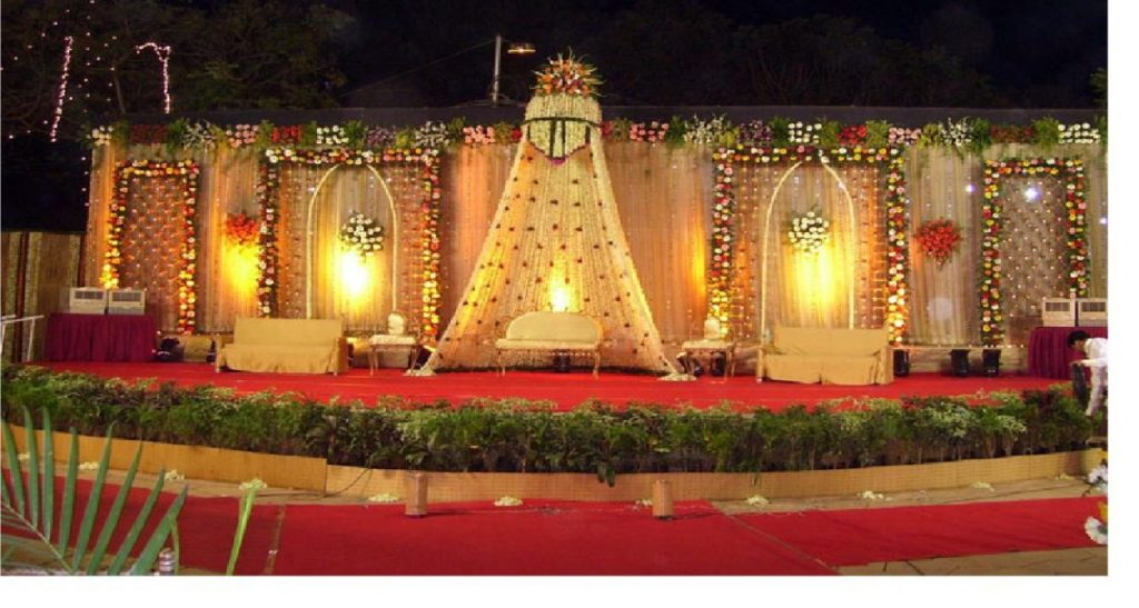 Wedding Planning Shahi Reception Stage
