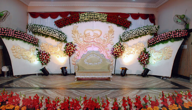 Wedding Planning fabricated Reception Stage
