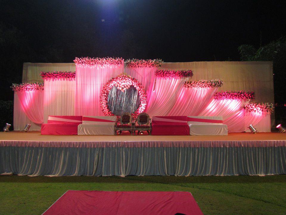Wedding Planning Reception Stage