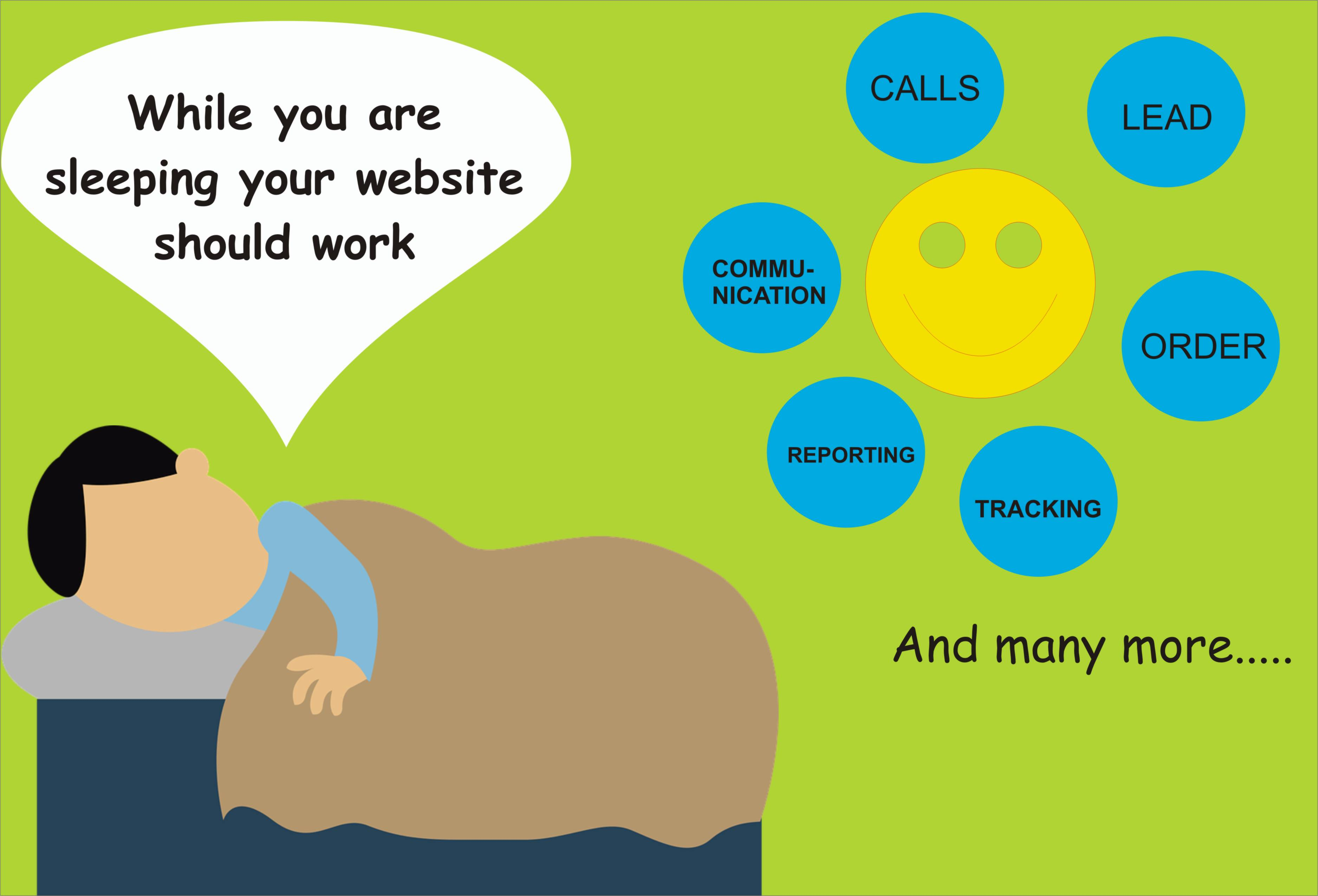 Strategic web development - While Sleeping